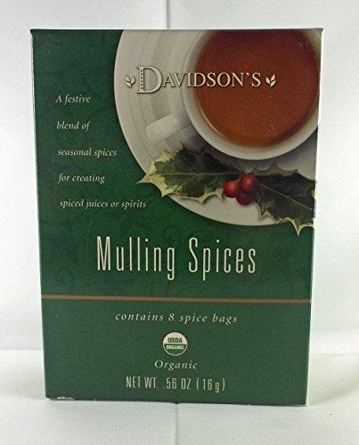 Tea Bag Box of 8 Organic
