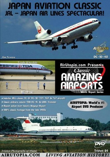 Japan Airlines Nagoya Airport Classic Dvd 120 - Cathay Pacific Pilot