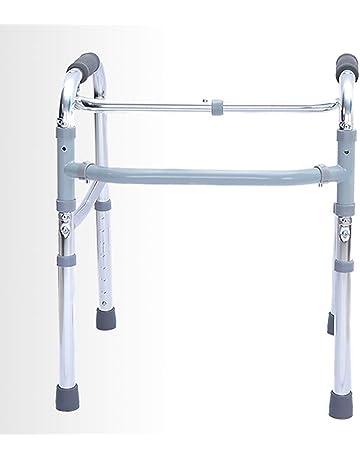 DMZY Médico Súper Ligero Aleación de Aluminio Plegable Estándar Andador