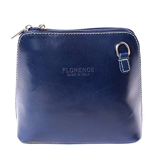 Petit Market Bleu Sac bandoulière 201 Leather Florence à vEc5qw84cx