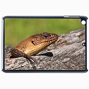 Customized Back Cover Case For iPad Mini 2 Hardshell Case, Black Back Cover Design Cunninghams Skink Personalized Unique Case For iPad Mini 2