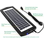 Sunway-Solar-Battery-Trickle-Charger-Car-Battery-Maintainer-12V-Solar-Panel-Power-Kit-Portable-Backup-for-Car-Automotive-RV-Marine-Boat-Truck-Trailer-Tractor-Powersports-Snowmobile-Farm-Equipment