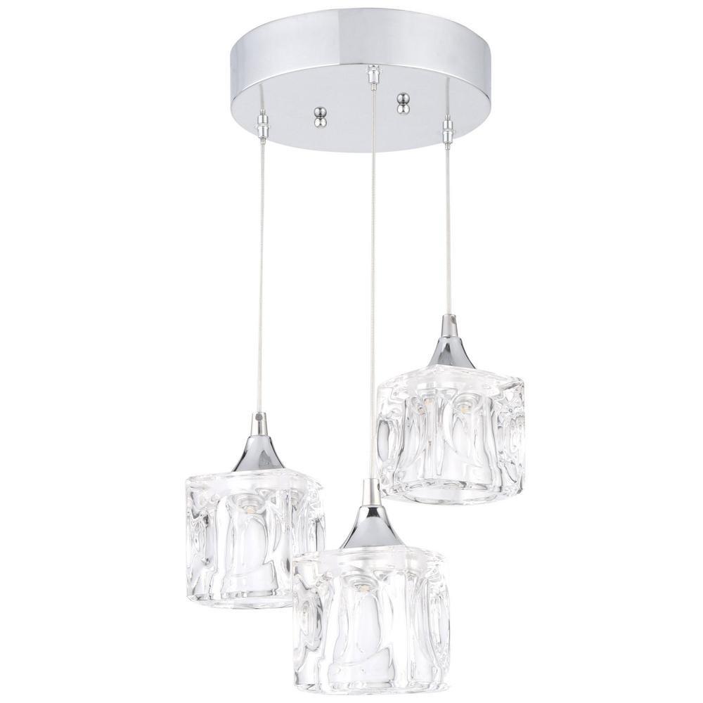 Home Decorators Collection 3 light LED pendant