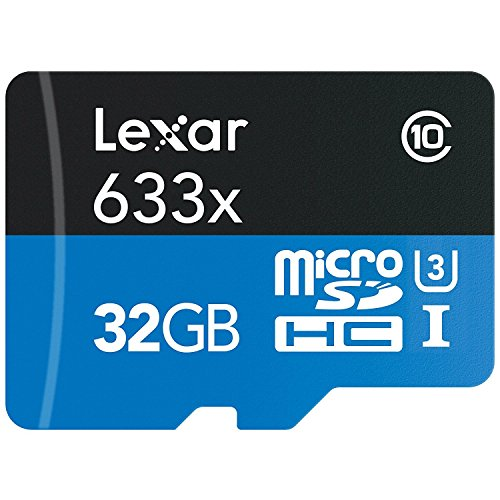 Lexar High-Performance MicroSDHC 633x 32GB UHS-I w/USB 3.0 R