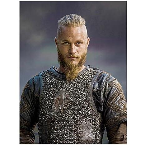 42807a31 Vikings Travis Fimmel as Ragnar Lothbrok Portrait Promo 8 x 10 Photo