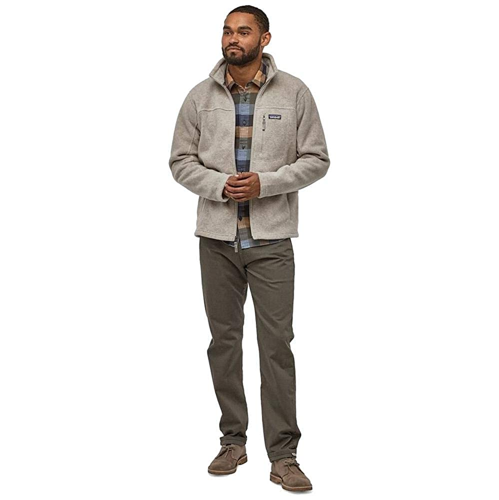 Patagonia Mens Classic Synchilla/® Fleece Jacket Mod 22990 Beige
