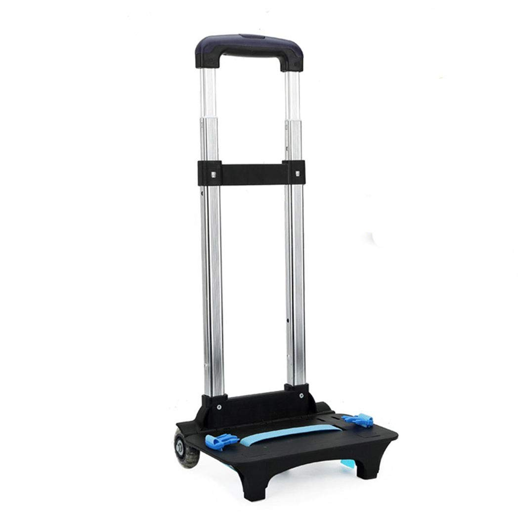 Backpack Hand Truck YUB Wheeled Cart Trolley Hand Aluminium Alloy Folding Trolley Cart for Schoolbag