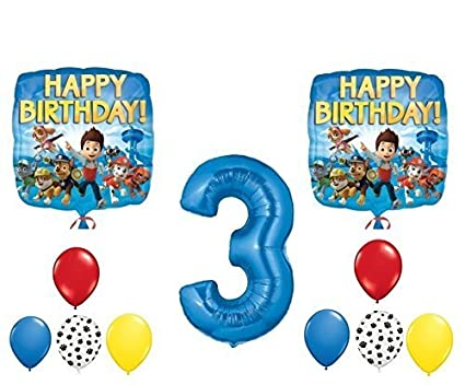 Image Unavailable Not Available For Color PAW Patrol 3rd Happy Birthday