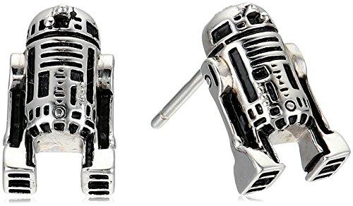 star wars earrings sterling silver