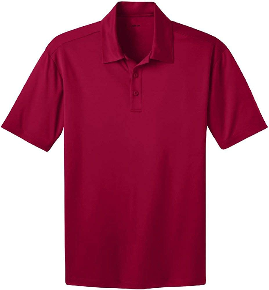 Joes USA Mens Big /& Tall Short Sleeve Moisture Wicking Silk Touch Polo Shirt