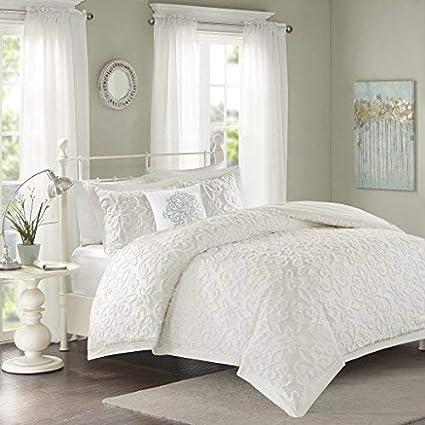 Amazoncom Madison Park Sabrina Comforter Set Kingcal King Size