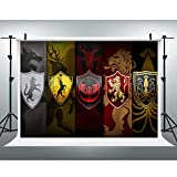 Flag Photography Backdrop for GOT Party, 9x6FT, Fans Background, Photo Booth Studio Props LYLU538