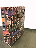 eVincE Large Gift Wrap Bags for quick wrapping with bright design and facts, used for Corporate gifts, Holiday Gifts, Friendship Day, Appraisals, Birthday Gifts, Return Favors, Craft Making, Scrapbook