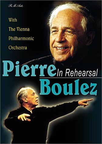 Three Orchestral Pieces - Pierre Boulez - In Rehearsal (Berg Three Pieces for Orchestra / Boulez Notations I-IV)