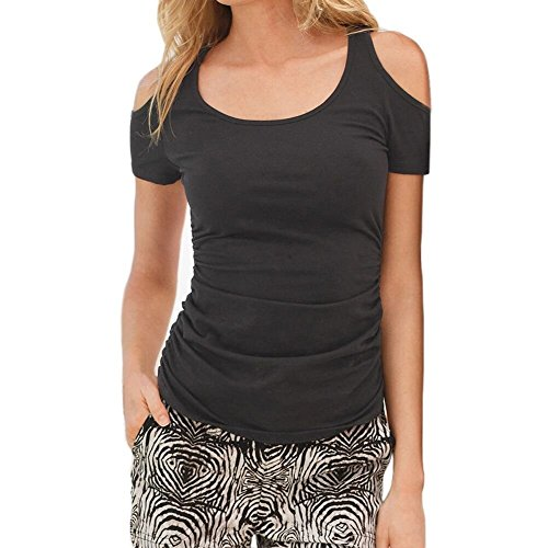 Begonia K Womens Casual Ruched Shoulder