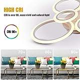 LED Ceiling Light,VANDER Life 72W LED Ceiling Lamp