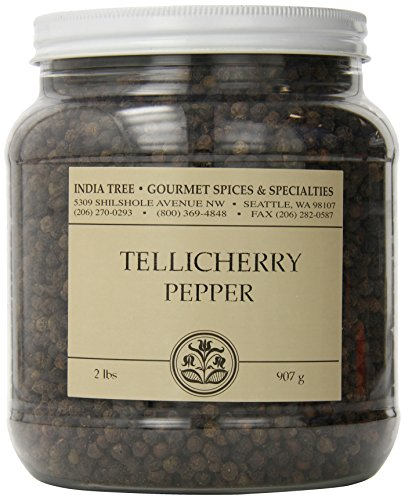 India Tree Tellicherry Pepper, 2 lb by India Tree