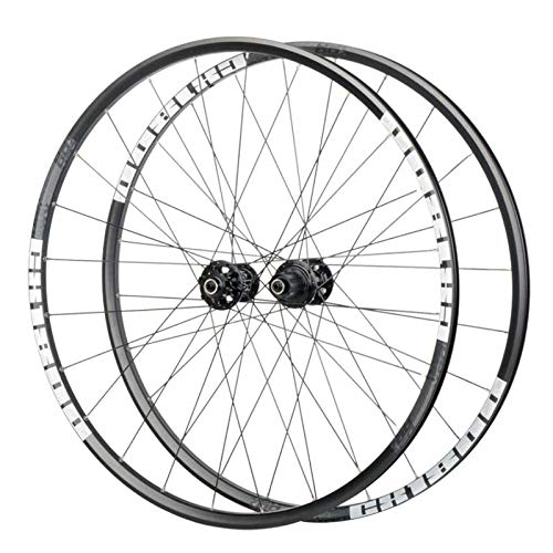 (Koozer CX1800 700C Clincher Alloy Wheels Disc Brake Road Bicycle Wheels Cyclocross Wheels for 700C x 32-42C (White Grey Logo,QR Version))