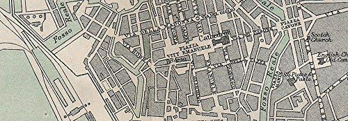 Amazon Com Leghorn Livorno Antique Town City Plan Mappa
