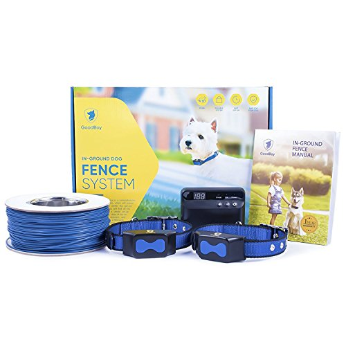 Electric Dog Fence by GoodBoy - Invisible Perimeter Fence Prevents Pets Escaping - Underground System Is Easy to Set Up & Maintenance Free -Suitable for Dogs Big or Small -Superb Follow-Up Support