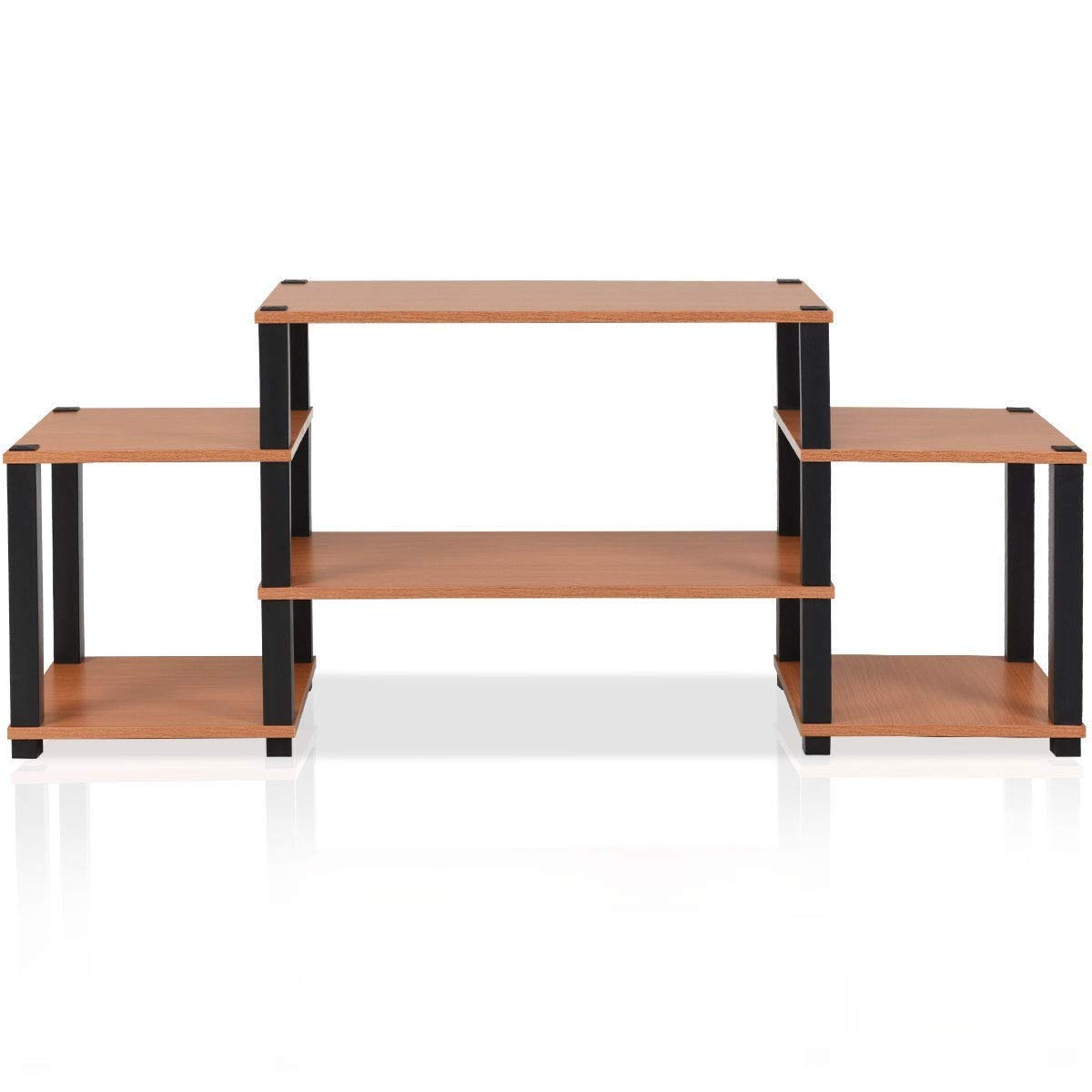 KING77777 Durable and Sturdy Construction 57'' L TV Stand Console Furniture Multi- Function Storage Organizer Cabinet by KING77777 (Image #1)