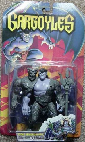 Gargoyles Stone Armor Goliath 1st Series 1995 Figure by Kenner