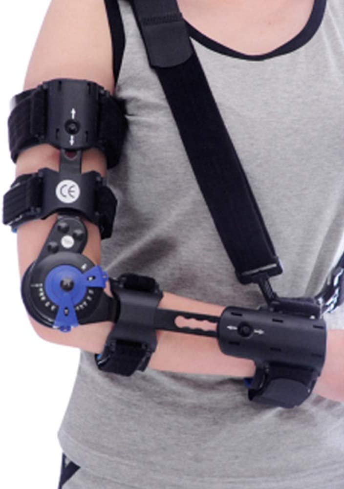 WZCXYX Soporte de Codo Ajustable, férula de fijación de Fractura de Brazo/ortesis postoperatoria de rehabilitación, dislocación Right Hand