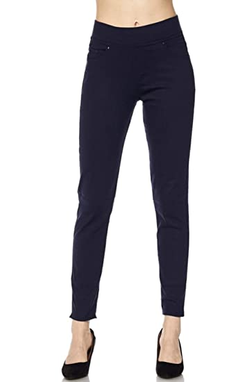 9771d38d9125 2LUV Women s Stretch Twill 5 Pocket Skinny Pants w Pocket at Amazon Women s  Clothing store