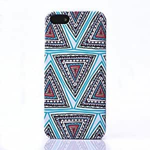 National Wind Triangle Pattern Back Case for iPhone 5/5S