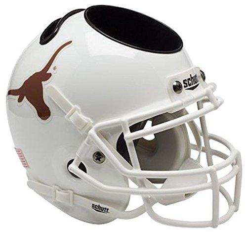 (Schutt NCAA Texas Longhorns Authentic Mini Football Helmet Desk Caddy)