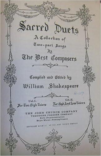shakespeare duets