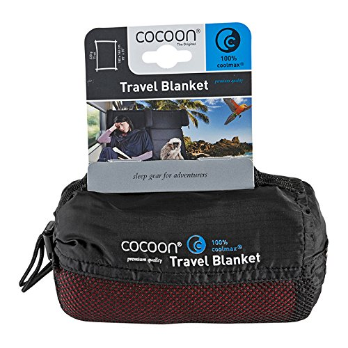 Cocoon CoolMax Blanket (Monk's Red) by Cocoon