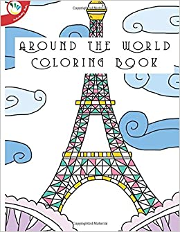 Amazon.com: Around The World Coloring Book (9781533344601 ...
