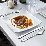 LIANYU 20 Piece Silverware Flatware Cutlery