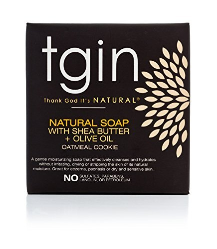 tgin Olive Oil Soap- 4oz Oatmeal Cookie by tgin (Thank God It's Natural) (Cookie Oatmeal Body)