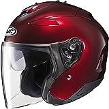 HJC IS-33 II Helmet (X-LARGE) (WINE)
