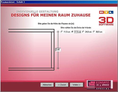 RTL 3D Software   Einsatz In 4 Wänden: Amazon.de: Software