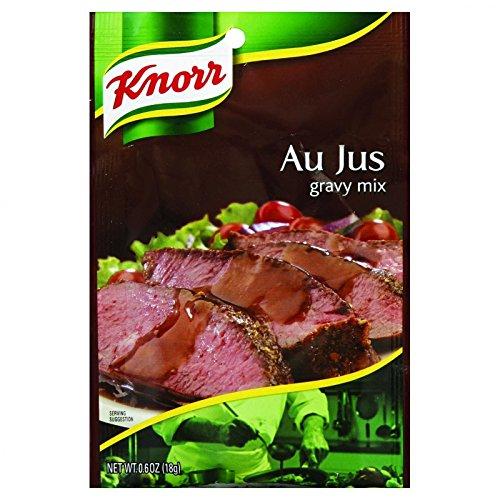 Knorr Gravy Mix - Au Jus - .6 oz - Case of ()