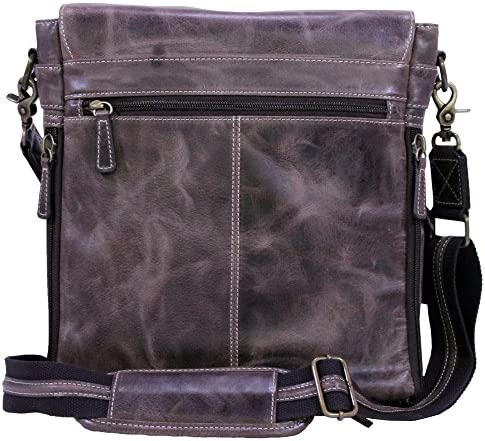 Buffalo Leather Messenger Bag