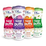 Plum Organics Super Puffs Variety Pack, 1.5 Ounce (Pack of 8)