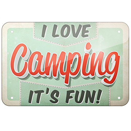 Metal Sign made our list of camping gifts couples will love and great gifts for couples who camp