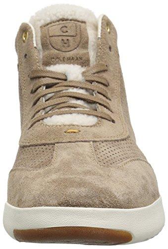 Cole Haan Femmes Grandpro Salut Sneaker Chaud Sable