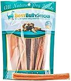 Best Bully Sticks 100% Natural 6-inch Bully Sticks by (8oz. Bag)