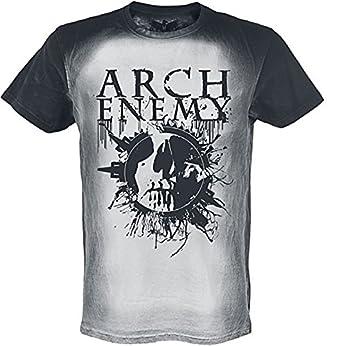 Polos Arch Enemy à manches courtes noirs homme Dt4KboXstT