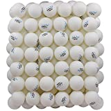 100 White 3-star 40mm Table Tennis Balls Advanced Training Ping Pong Balls