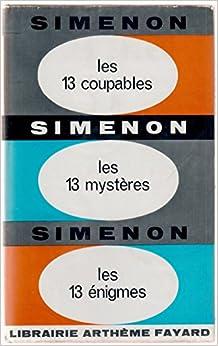 Book Les 13 coupables