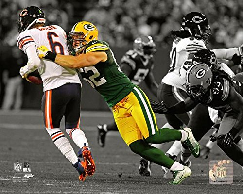 Clay Matthews Green Bay Packers Spotlight Action Photo (Size: 8