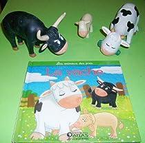 Les animaux des prés : la vache par Serbource