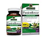 Nature's Answer PassionFlower Vegetarian Capsules, 60-Count
