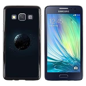 TECHCASE**Cubierta de la caja de protección la piel dura para el ** Samsung Galaxy A3 SM-A300 ** Polygon Planet